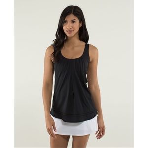 Lululemon Run Times Tank, Black, 12